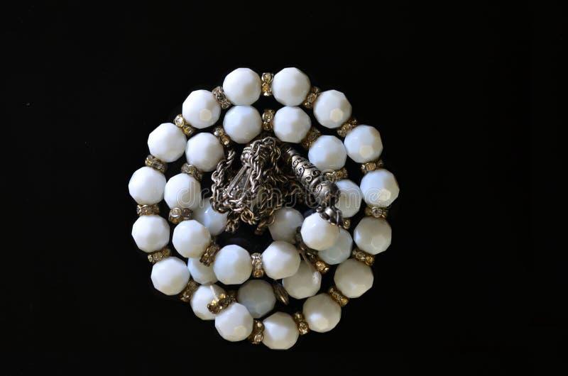 Subha-Perlen Kreise des Schicksals stockbilder