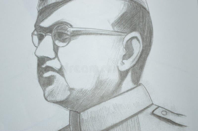 Subhash Chandra Bose stock fotografie