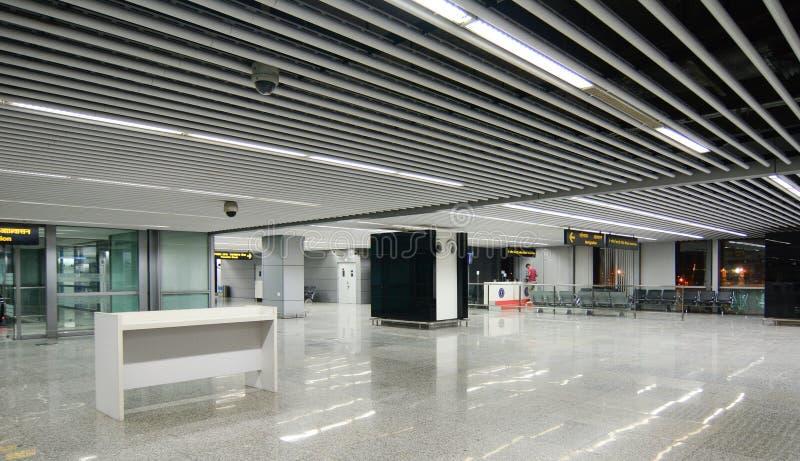 Subhash Chandra Bose International Airport na Índia imagens de stock