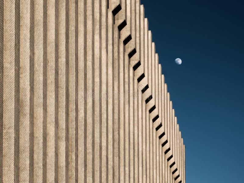 Subida de la luna fotografía de archivo libre de regalías