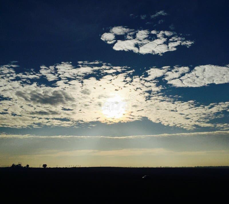 Subida de Sun imagenes de archivo