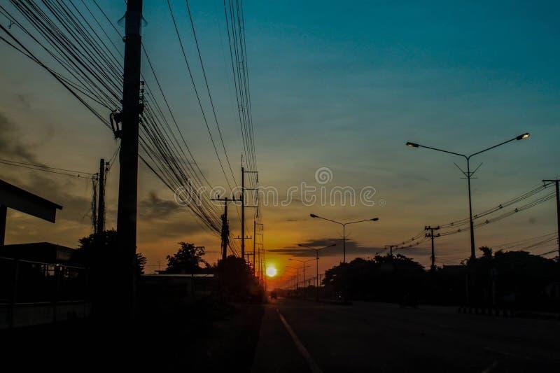Subida de Sun fotografía de archivo