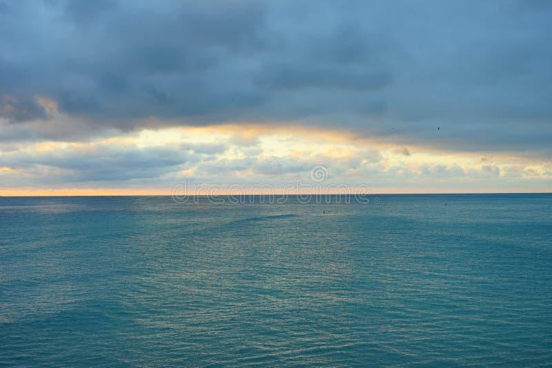 Subida del sol de Miami fotografía de archivo libre de regalías