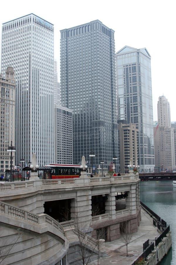 Subidas del colmo de Chicago imagenes de archivo