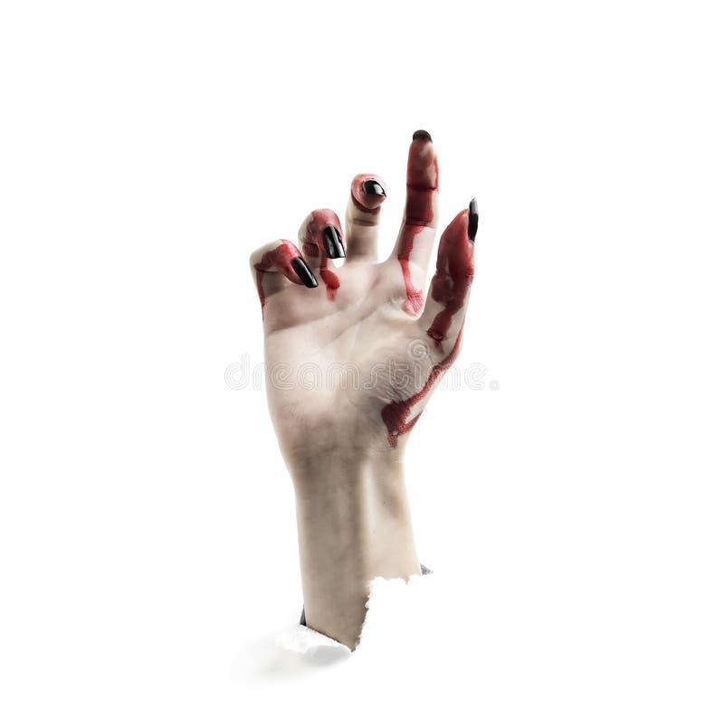 Subidas del vampiro de la mano imágenes de archivo libres de regalías