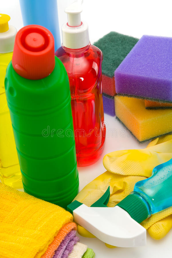 Download Subjects  For Sanitary Cleaning A House Stock Image - Image: 13099283