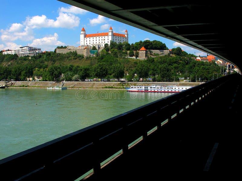 Sublevación nacional eslovaca del puente imagen de archivo