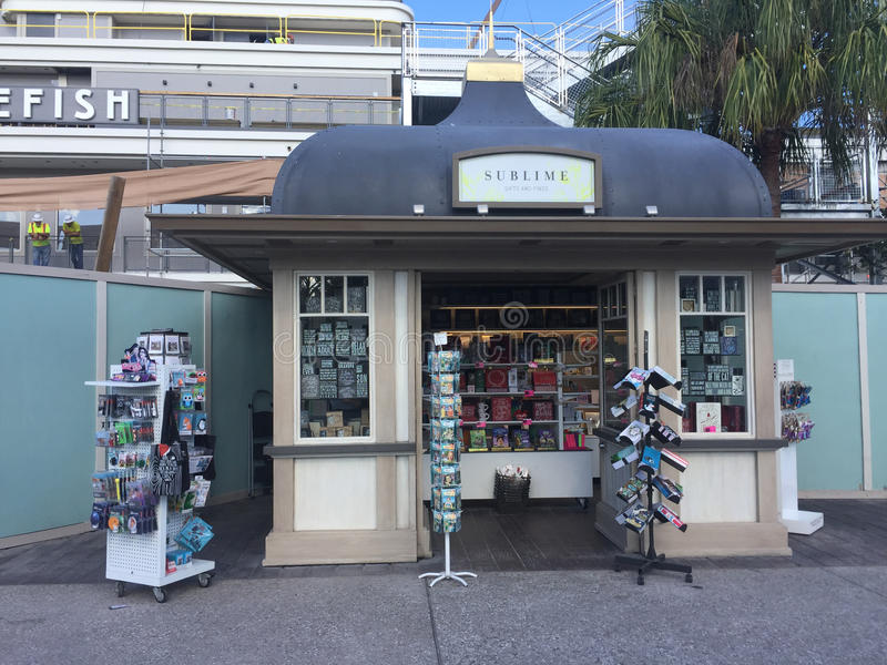 Subliem gevestigd in Disney-de Lentes, Orlando, FL stock fotografie