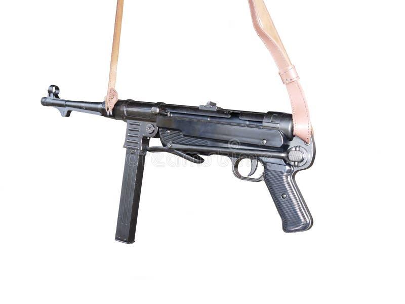 Submachine πυροβόλο όπλο Schmeisser στοκ εικόνες