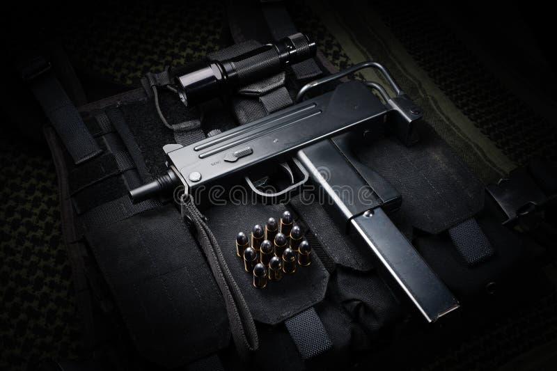 Submachine πυροβόλο όπλο στοκ φωτογραφία με δικαίωμα ελεύθερης χρήσης
