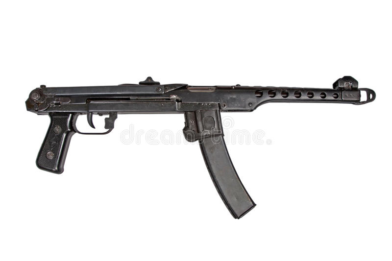 Submachine Gun Pps Royalty Free Stock Photography