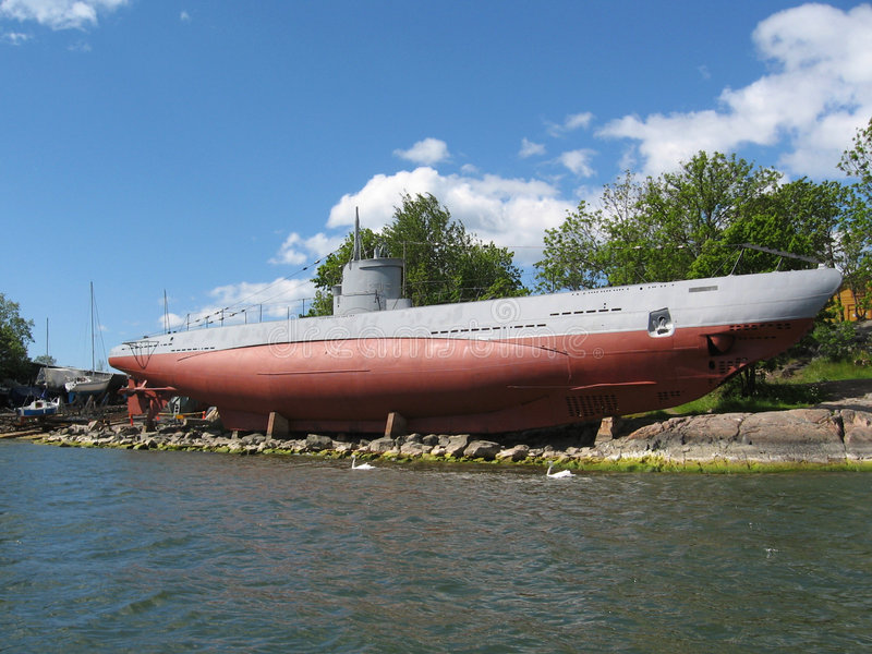 Download Submarine stock photo. Image of suomenlinna, boat, europe - 5654310