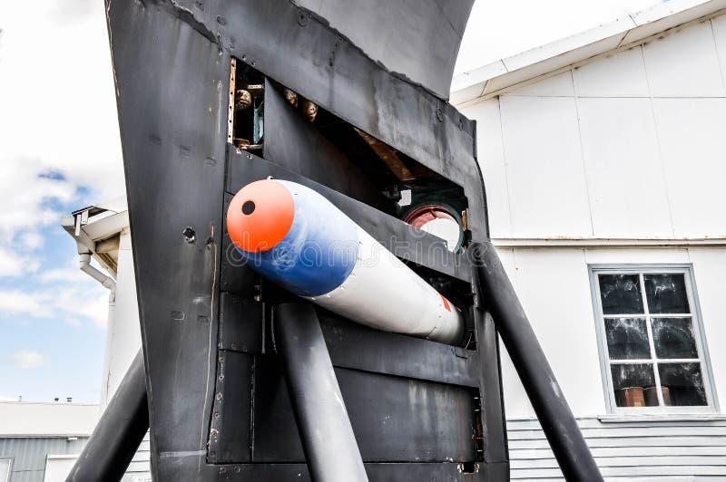 Submarine Bow with Torpedo Detail stock photos
