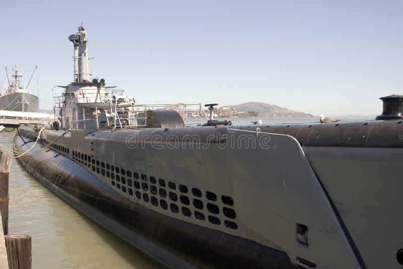 Submarine close up stock photos