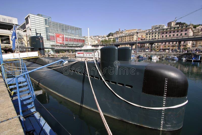 Submarine Genoa Editorial Stock Photo