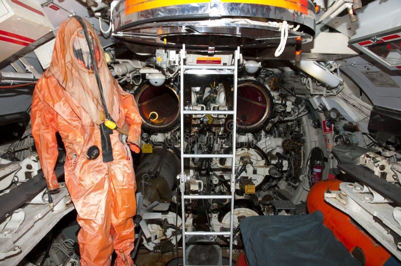 Submarine Torpedo Room stock photos