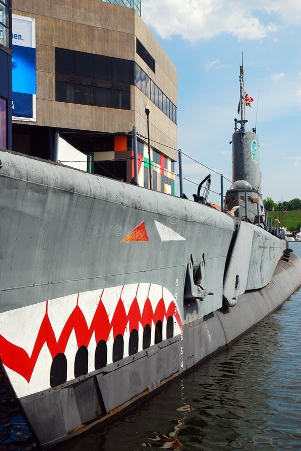 The submarine USS Torsk stock photos