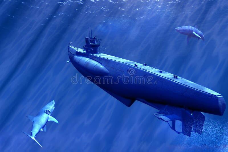 Submarino fotos de stock