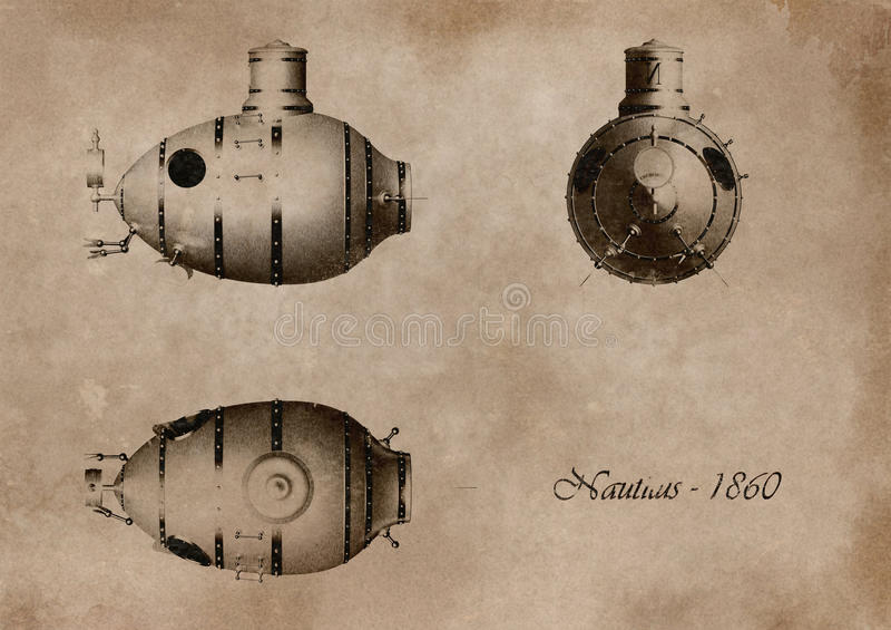 Submarino libre illustration