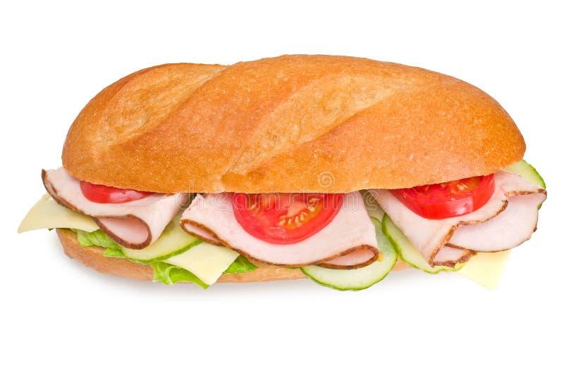 Submarino fresco do peru sandwic fotografia de stock royalty free