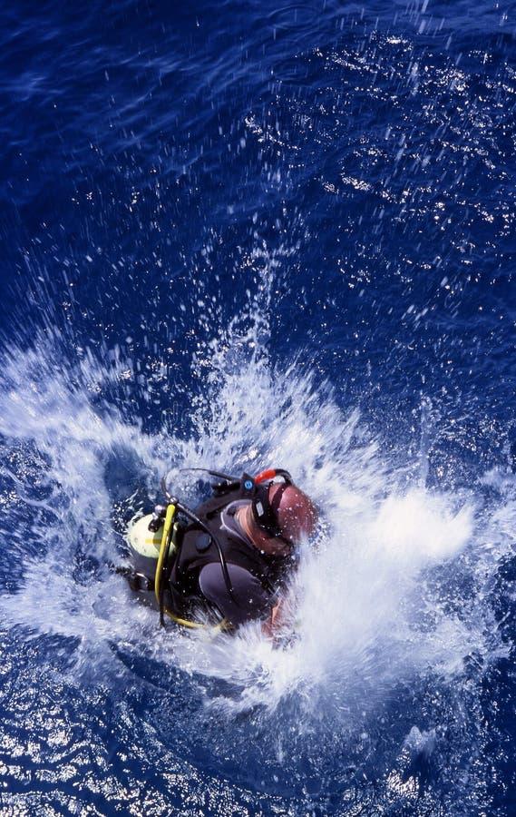 submersion zdjęcia royalty free