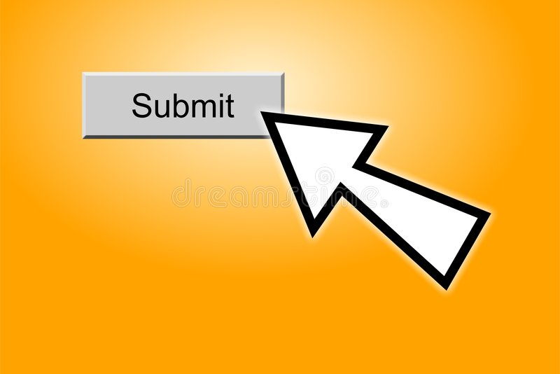 Submit Button vector illustration