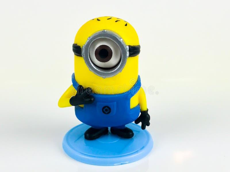 Subordonné Bob, jouet du ` s d'enfants image libre de droits