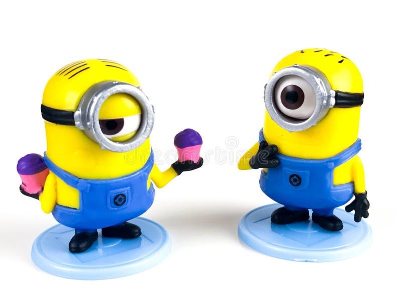 Subordonnés Phil et Bob, jouet du ` s d'enfants photographie stock libre de droits