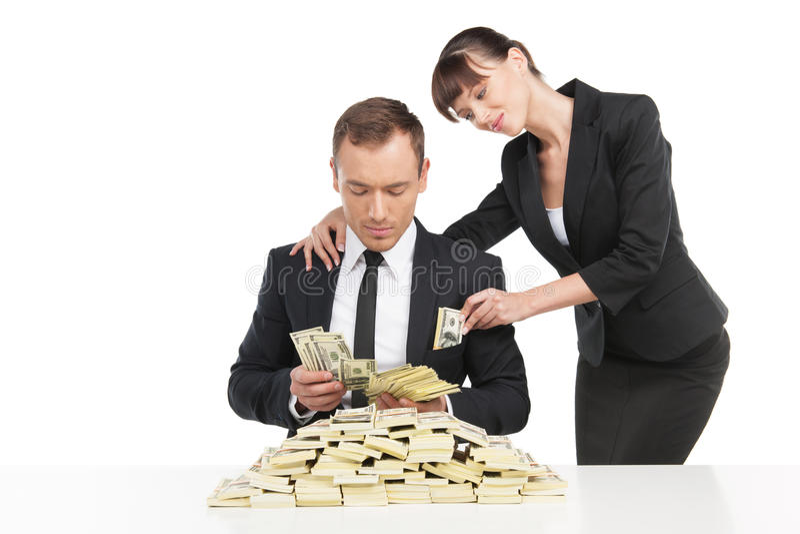Suborno. imagens de stock royalty free
