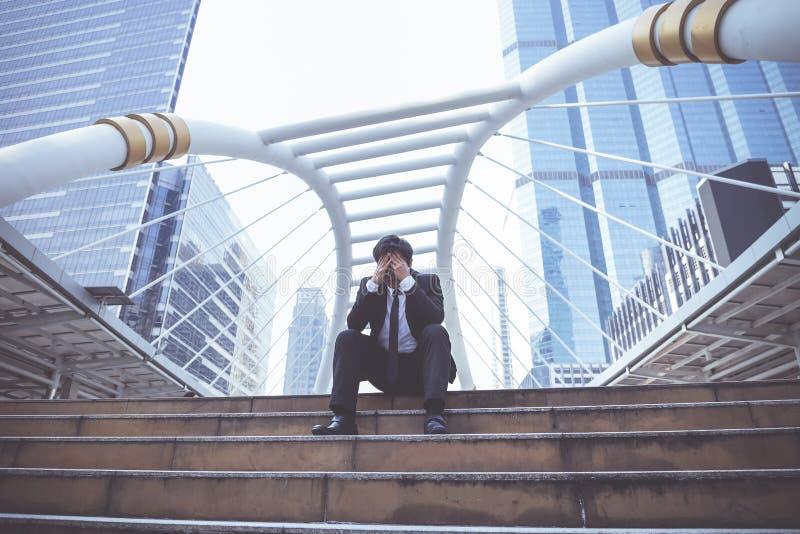 Subrayan a los hombres de negocios muy foto de archivo libre de regalías