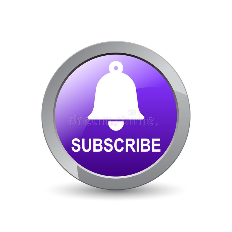 Free Subscribe Bell Icon Stock Photos - 122357593