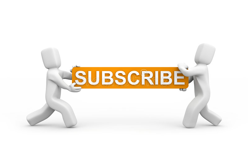 Subscribe now! vector illustration