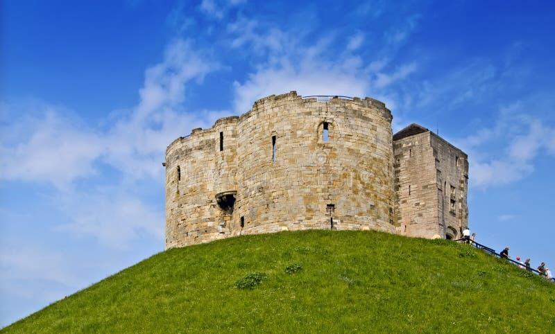 Subsistance de château, York images stock