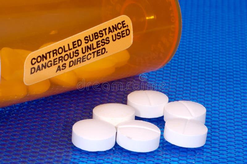 Substance contrôlée images stock