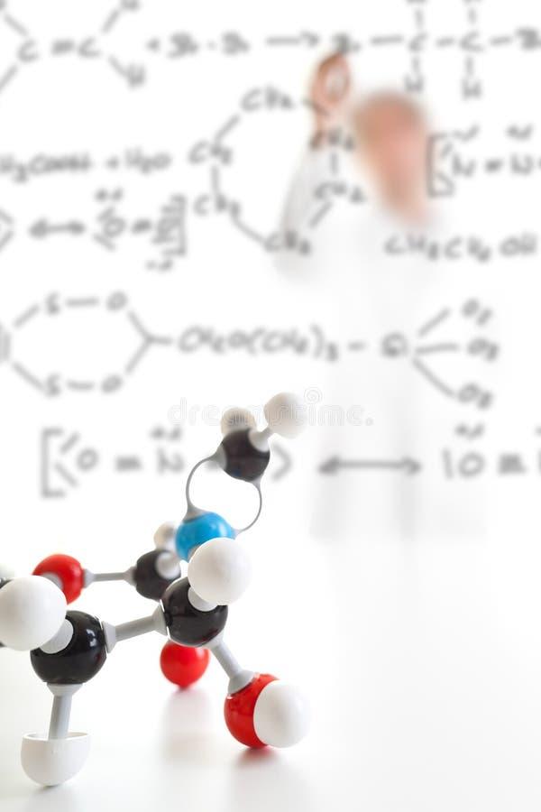 substanci chemicznej badanie obraz royalty free