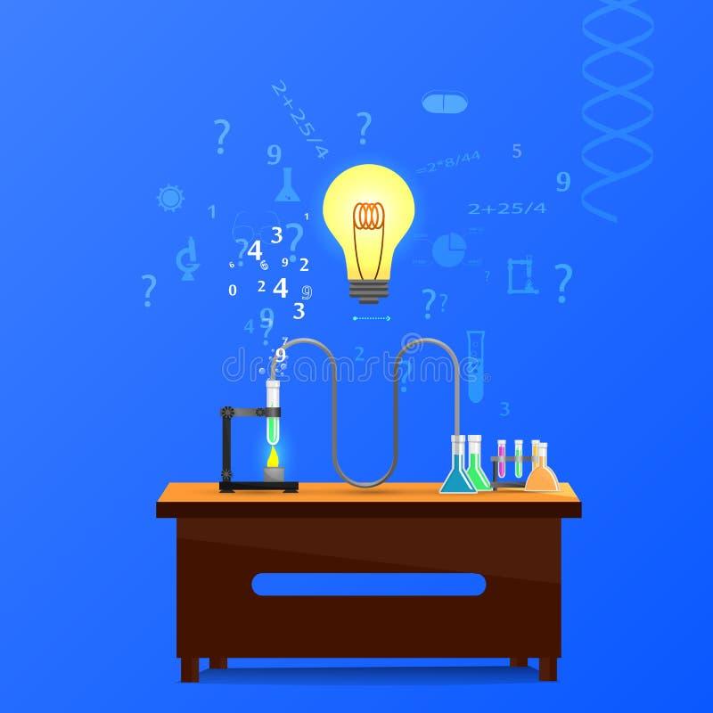 Substancja chemiczna infographic ilustracji