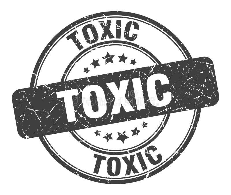 Substancja toksyczna znaczek royalty ilustracja