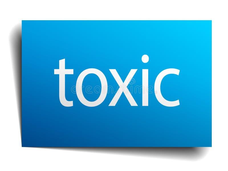 Substancja toksyczna znak ilustracji