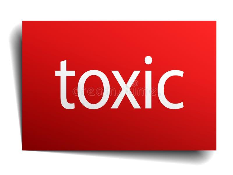 Substancja toksyczna znak ilustracja wektor