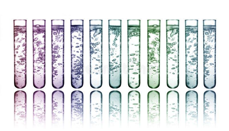 substancje chemiczne kolorowe zdjęcie royalty free