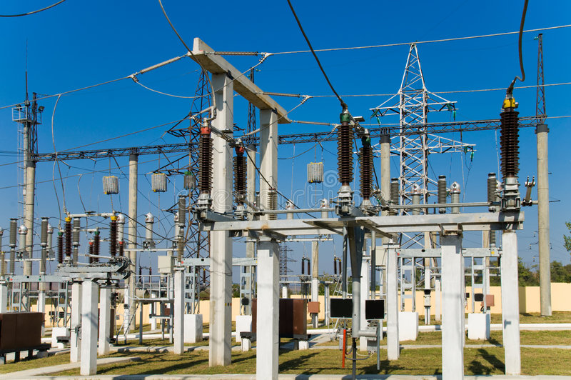 Substation stock photos