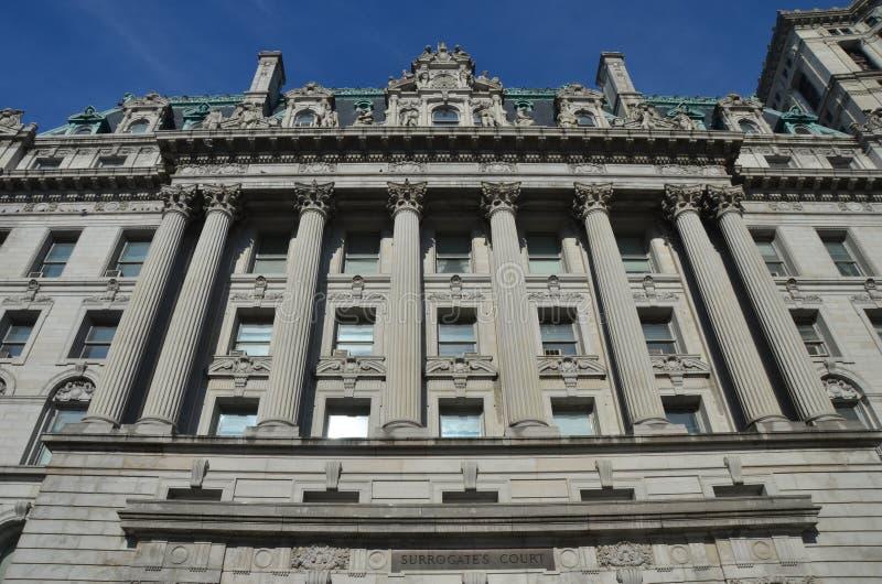 Substytutu gmach sądu, Miasto Nowy Jork fotografia stock