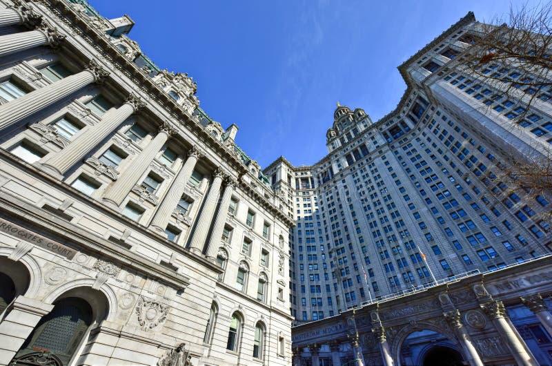 Substytutu gmach sądu - Miasto Nowy Jork fotografia stock