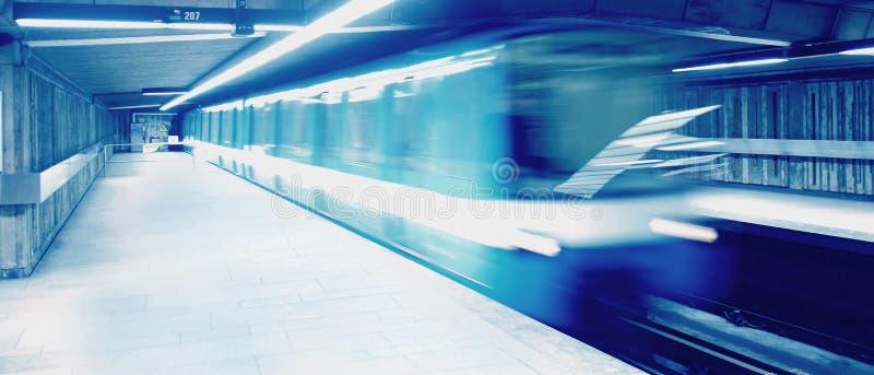 Subterráneo foto de archivo