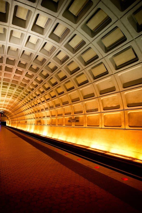 Subterráneo del Washington DC fotografía de archivo libre de regalías