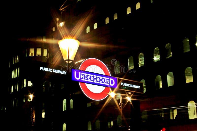 Subterráneo público subterráneo imagen de archivo libre de regalías