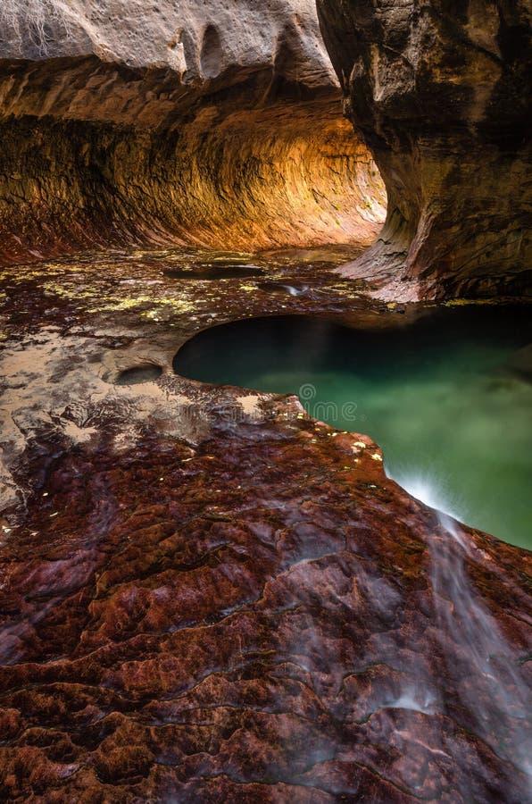 Subterráneo Zion fotografía de archivo libre de regalías
