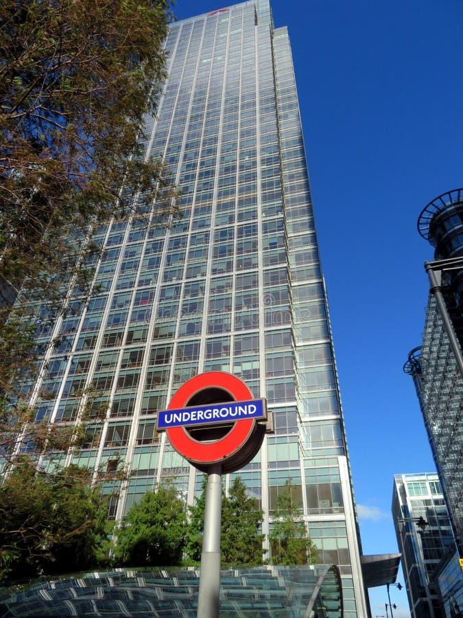 Subterrâneo, Overground imagens de stock royalty free