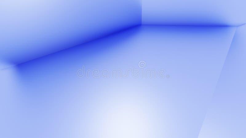 Subtiele blauwe achtergrond voor presentaties stock illustratie