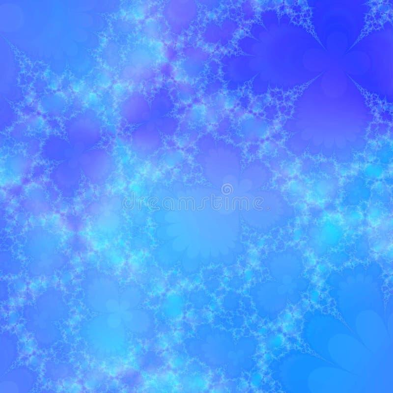 Subtiele hemel blauwe achtergrond stock illustratie